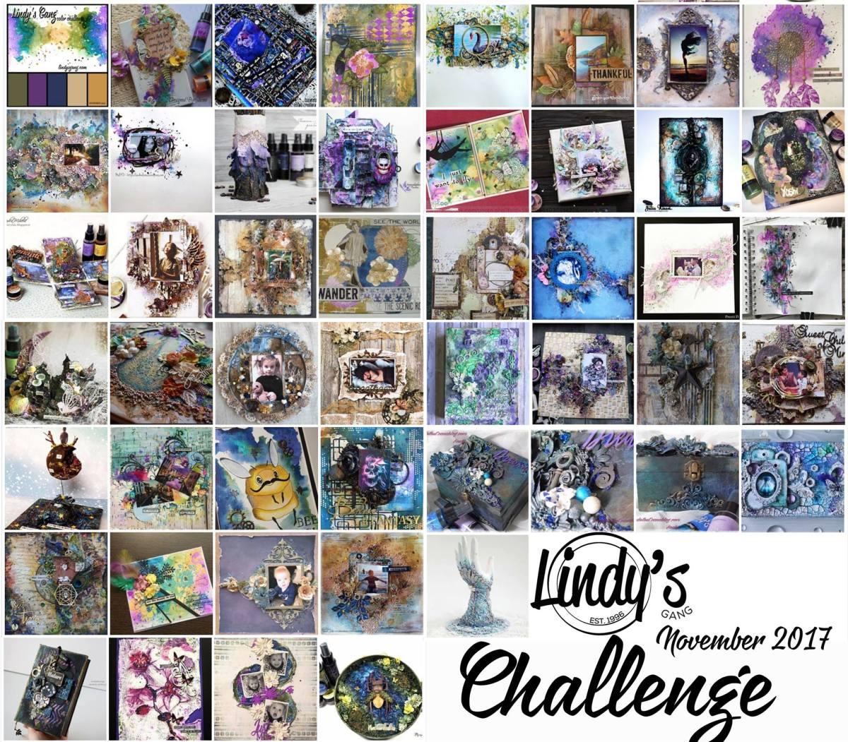 NOVEMBER Challenge WINNERS!!!