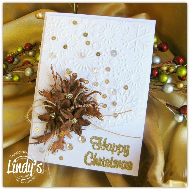 Brown Happy Christmas Card...