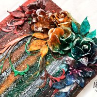 "Mixed Media Canvas ""Palette of Colors"" from Yulianna Efremova"