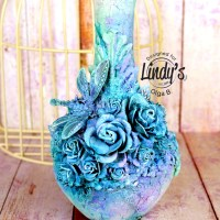 Altered Art Vase Tutorial with Olga Bielska