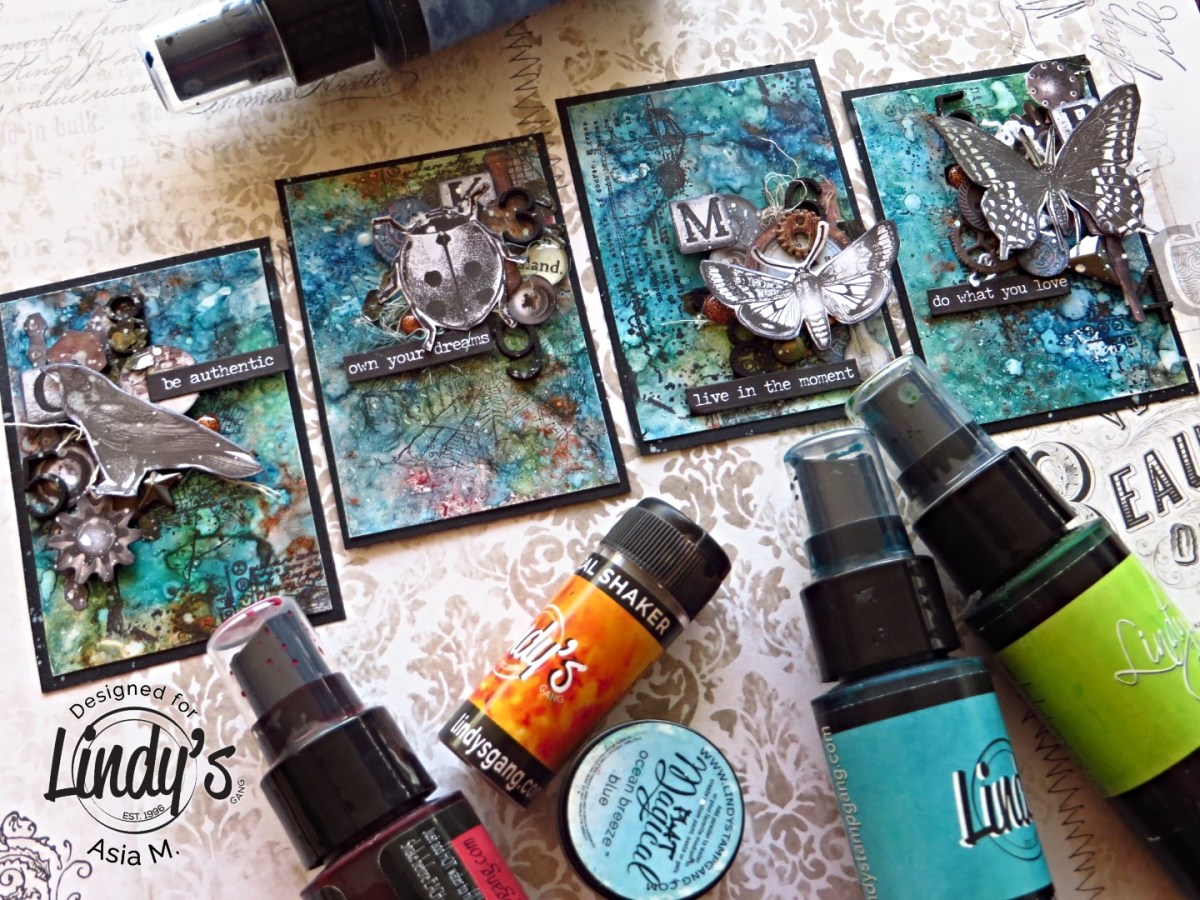 Replacing Your Alcohol Inks with Lindy's