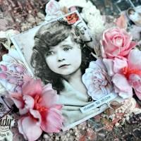 Choose To Shine - Mixed Media Layout with Olga Bielska