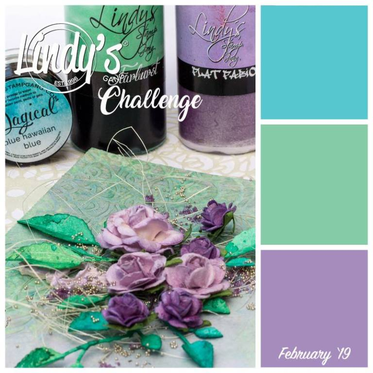 Lindy's Stamp Gang Lovin' February's Challenge