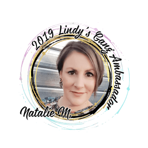 Lindys Blog Ambassador badge 2019 Natalie