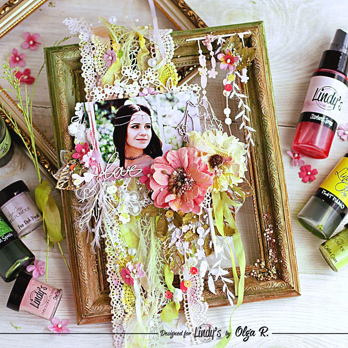 Boho Style Frame with Olga Ravenskaya