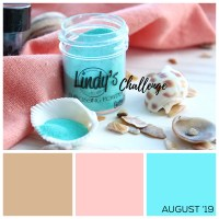 Lindy's August Color Challenge is Summery Fun