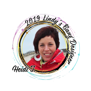 Lindys Blog Designer badge 2019 Heidi