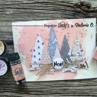 Easy Pastel Christmas Cards