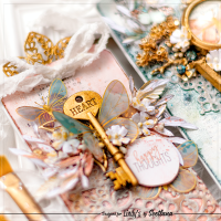 Mixed Media Tags using new Magicals | Video tutorial with Svetlana