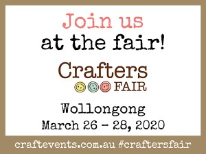 Crafters Fair Wollongong - E CARD