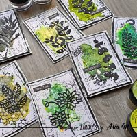 Making ATC's with Magicals: a fun idea with Asia