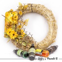 Handmade Easter Wreath by Pascale B.