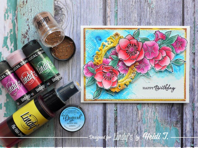 How to create a layered card project step by step