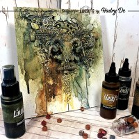 Mixed Media Panel Tutorial by Hadry Dc (Lover of Darkness)