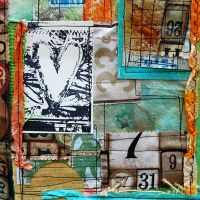 Collaged Journal Cover by Lizzy Wurmann