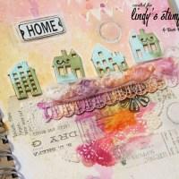 """Home"" Journal Page Tutorial by Marta Turska-Grochocka"