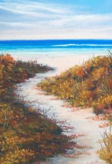 Beach Path in Summer SOLD