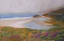 Misty Morning - Big Sur 26 x39cm (Pastel) $80