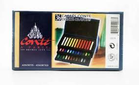 Conte pastel box