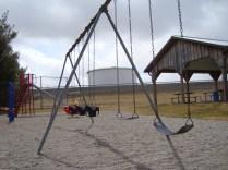 Playground beside Westover Station