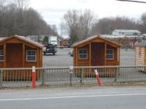 Cabins on Line 9 ROW