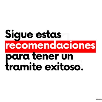 Sigue estas recomendaciones