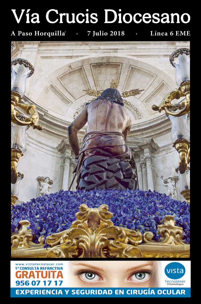 portada guía vía crucis diocesano 2018