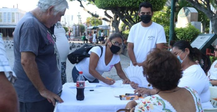 Members of the organization Humano Consciente celebrated this determination of a judge, as they consider that the rights of Mazatlecos who have not wanted or been able to get vaccinated were being violated