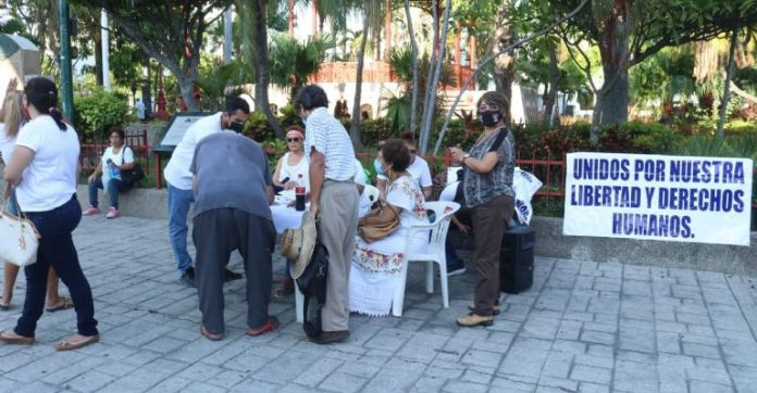 Members of the organization Humano Consciente celebrated this decision of a judge, as they consider that the rights of Mazatlecos who have not wanted or been able to get vaccinated were being violated.