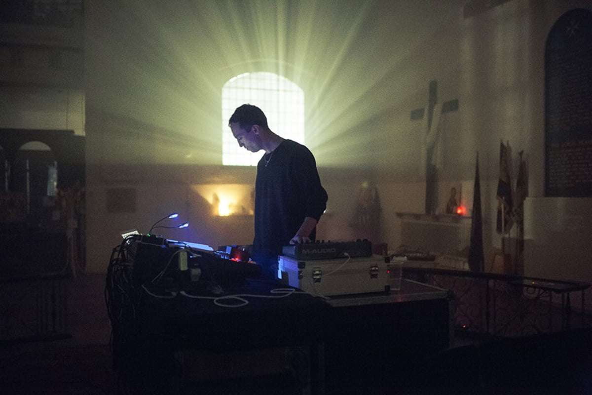 Tim Hecker, the shape of sound