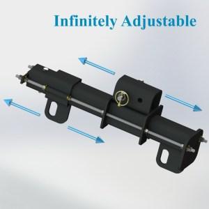 Polar Focus Spine Frame Adapter for Line Array Tilt Under Full Load