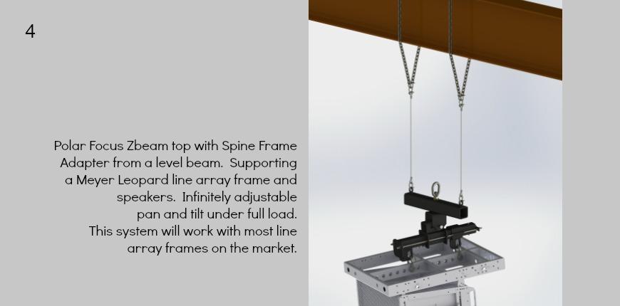 Polar Focus Spine Frame Adapter with Meyer Leopard