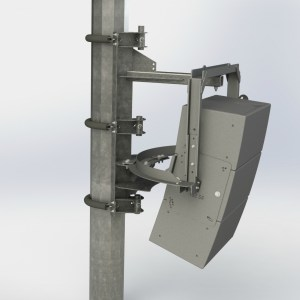 Polar Focus PM3-IV6-34 Pole Mount for Community IV6 Vertical Array Modules