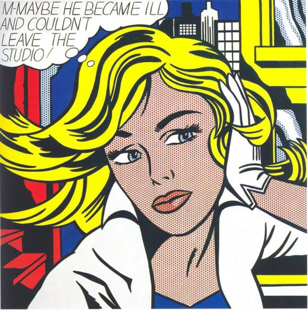 m roy lichtenstein