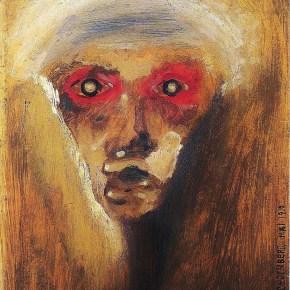 """""""La mirada roja"""", de Arnold Schönberg (1910)."""