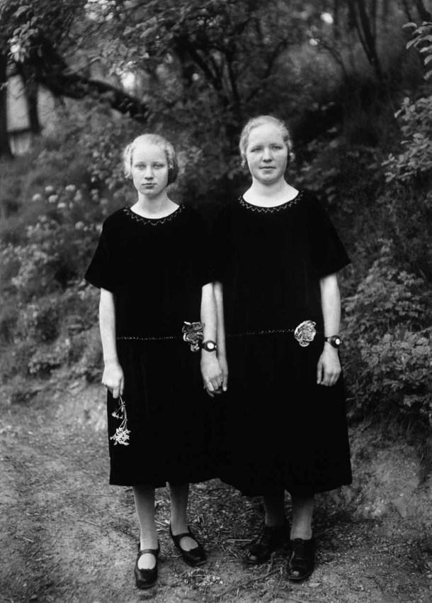 """August Sander """"Las campesinas"""", 1925. (Algo más que una inspiración para Diane Arbus)."""