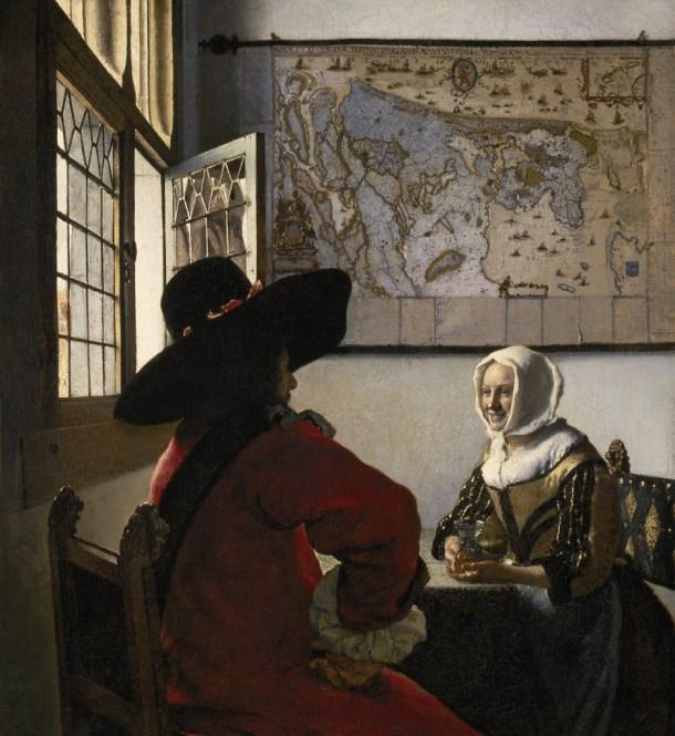 caricia Dental Zoológico de noche  El sutil voyeurismo de Johannes Vermeer - líneas sobre arte
