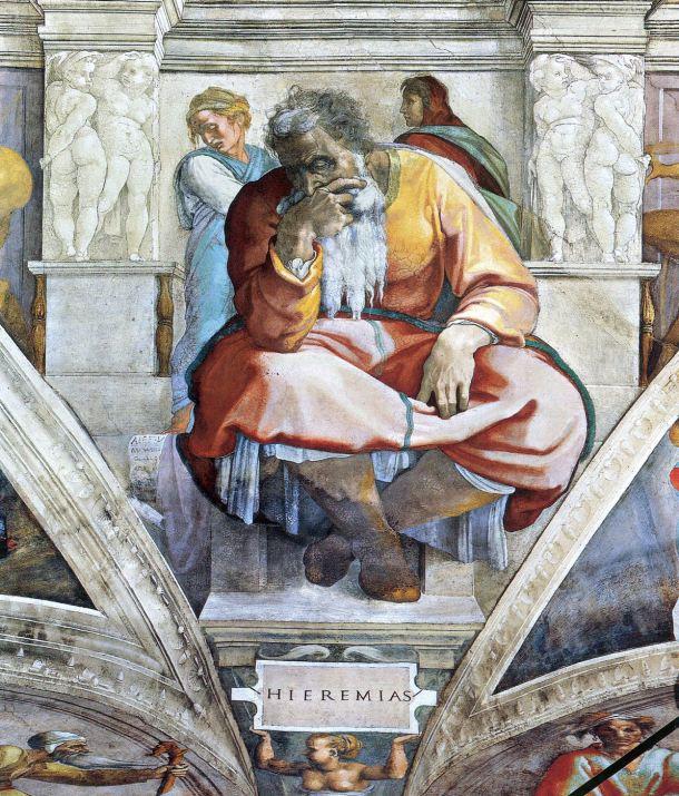 El profeta Jeremías.