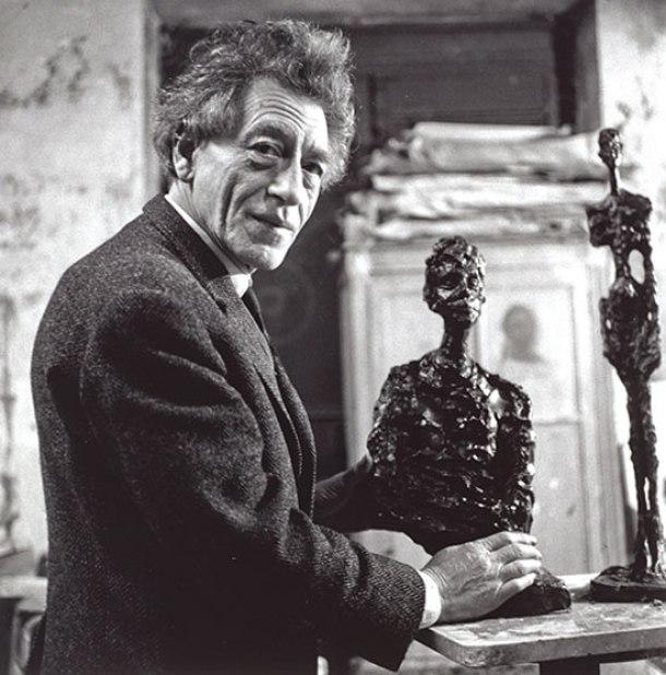 Alberto Giacometti, 1966.