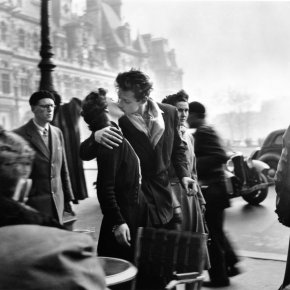 Robert Doisneau: Fotos de vida, amor y guerra.