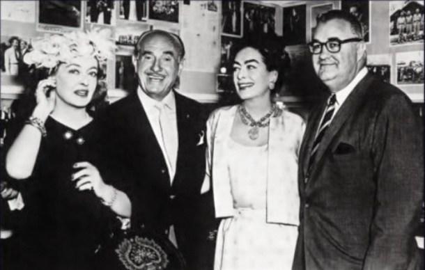 Bette Davis, Jack Warner, Joan Crawford, Robert Aldrich