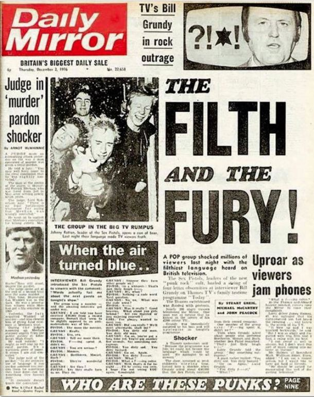 Sex Pistols Mirror