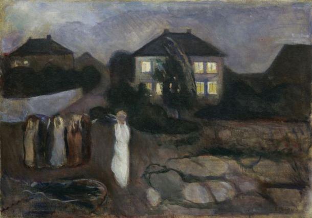 Munch la tormenta 1893