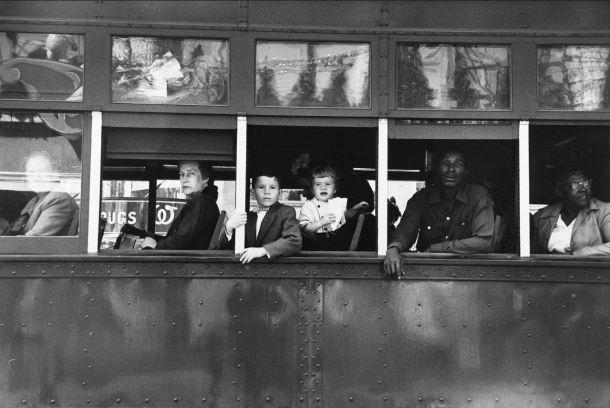 12 Robert Frank Tranvía, Nueva Orleans