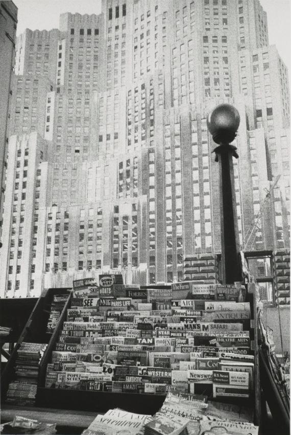 18 Robert Frank Edificio de la Metropolitan Life Insurance. Nueva York