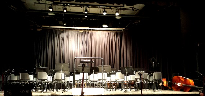 Last All Bands Concert Night old Oak Bay High Theatre