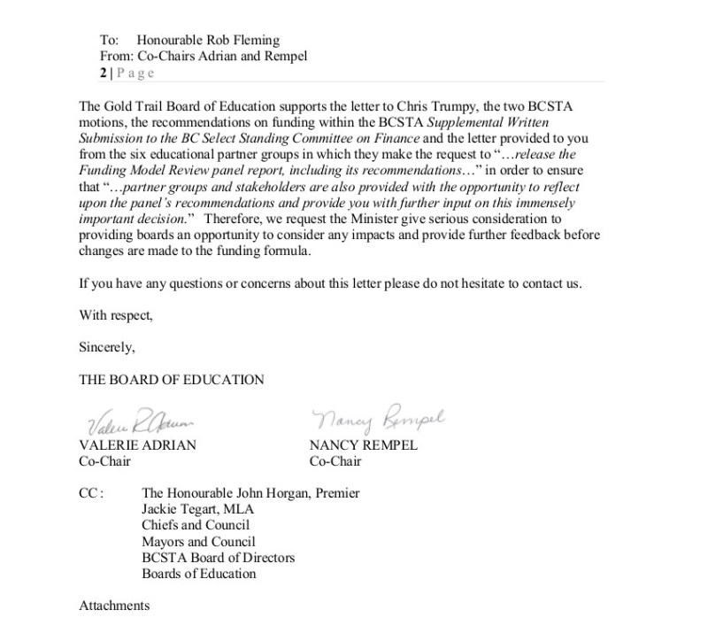 2018-11-13 VAdrian SD74 to MoE Fleming re FMR 2
