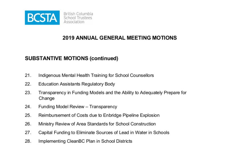 2 2019 AGM Motions Compiled-Final