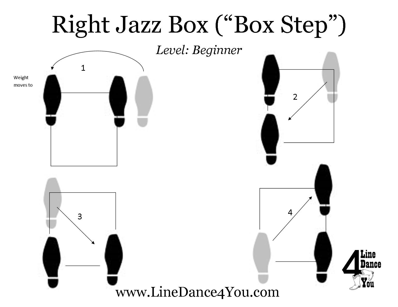 Step Of The Week Jazz Box Or Box Step