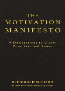 The Motivation Manifesto Ebook